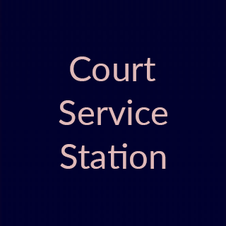 COURT SERVICE STATION