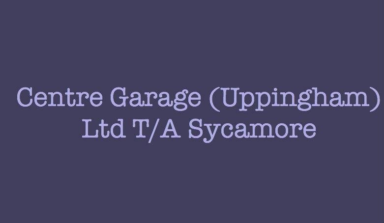 Centre Garage (Uppingham) Ltd T/A Sycamore