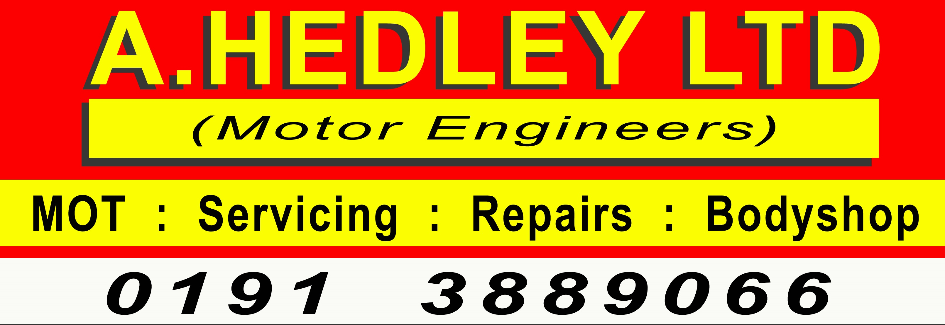 A HEDLEY (MOTOR ENGINEERS) LTD