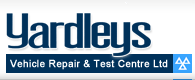 Yardleys Vehicle Repair & Test Centre Ltd