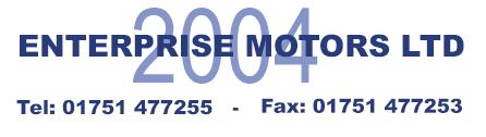 ENTERPRISE MOTORS 2004 LTD