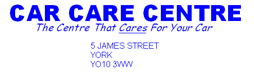 Car care centre (York) ltd