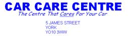 Car care centre (York) ltd