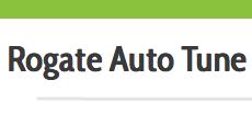 Rogate Auto Tune