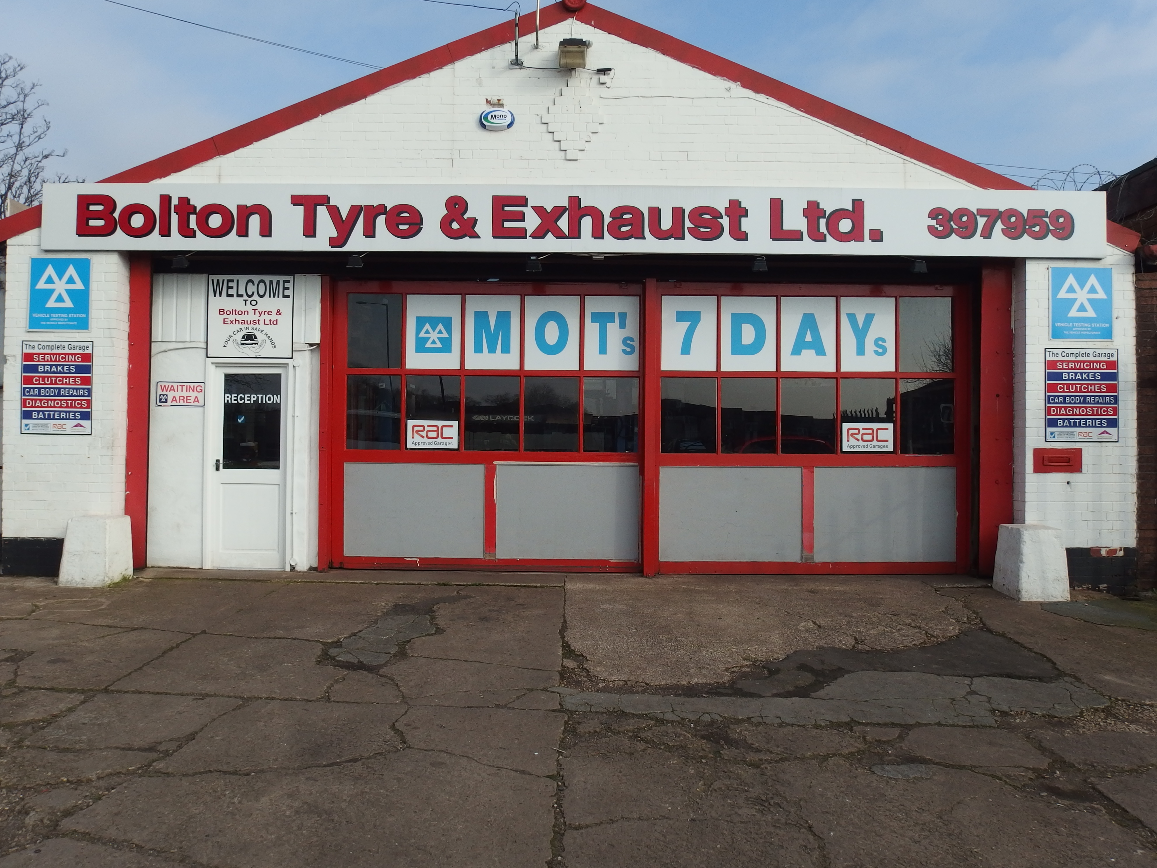 Bolton Tyre & Exhaust Ltd