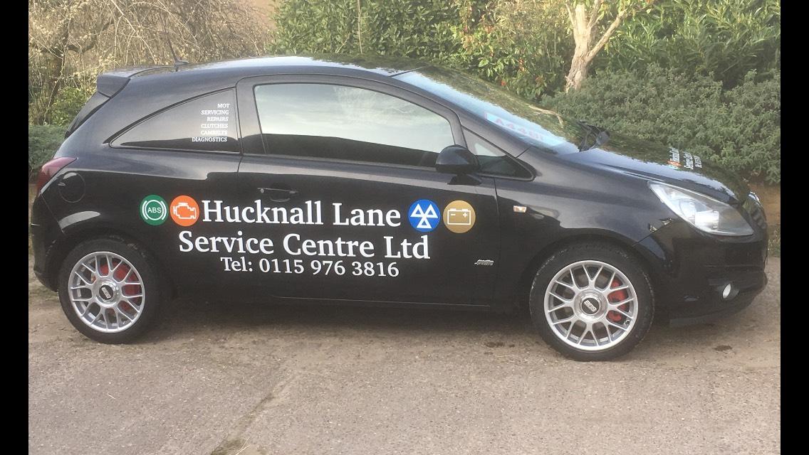 Hucknall Lane Service Centre