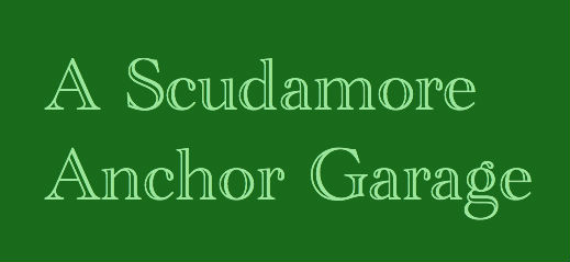 A Scudamore Anchor Garage