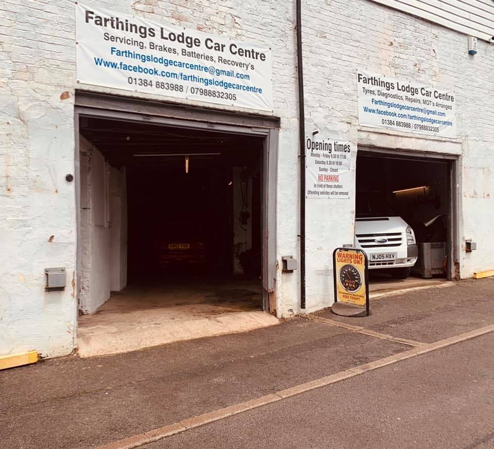 Farthings Lodge Car Centre - Booking Tool