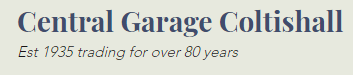 CENTRAL GARAGE COLTISHALL