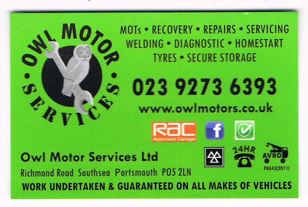 Owl Motor Services Ltd