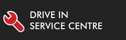Drivein-service centre