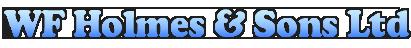 W F HOLMES & SONS LTD