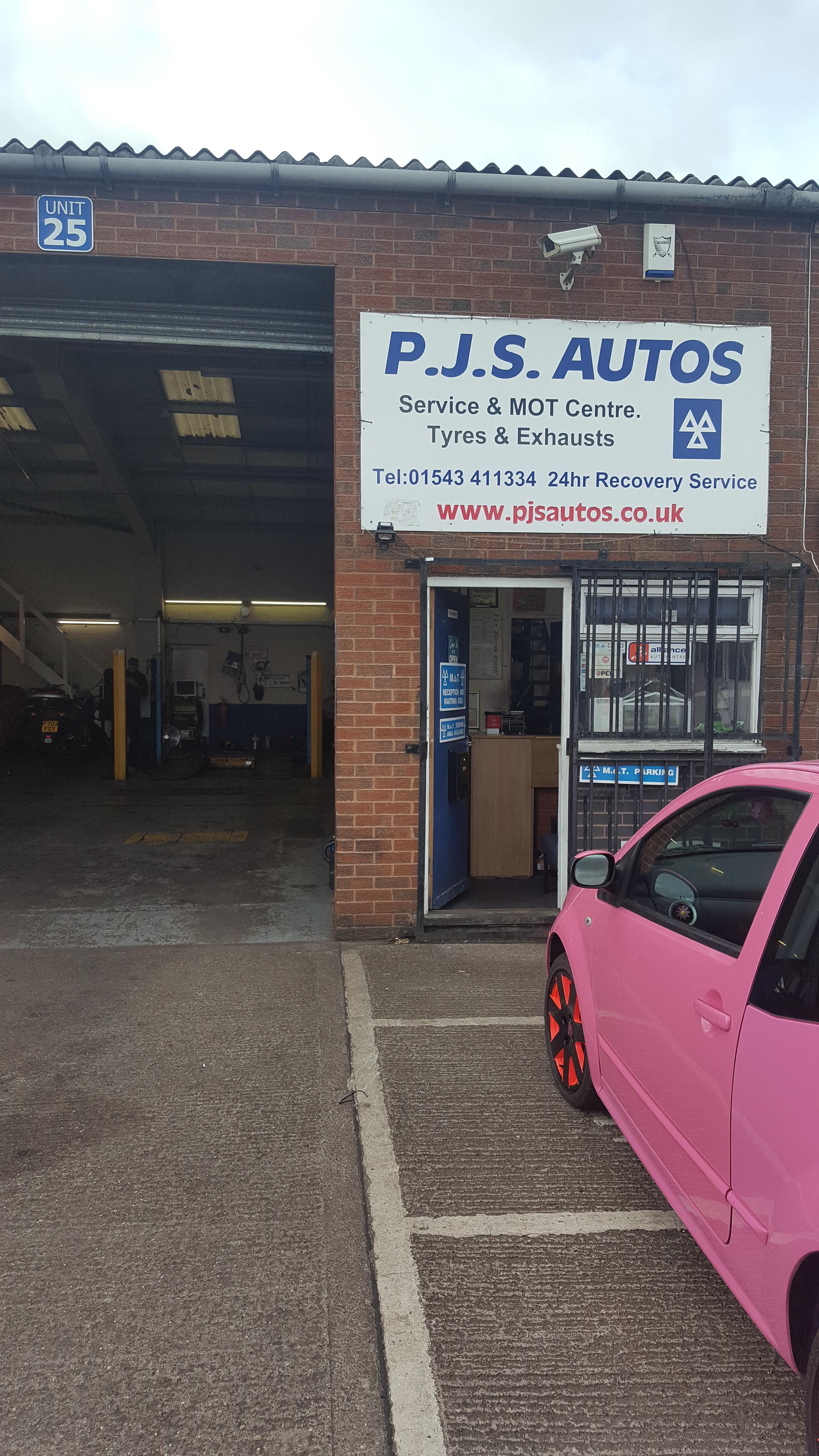 PJS AUTOS SERVICE AND MOT CENTRE
