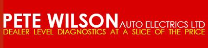 Pete Wilson Auto Electrics Ltd