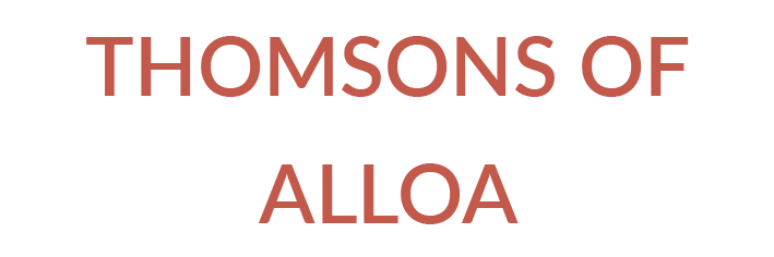 THOMSONS OF ALLOA